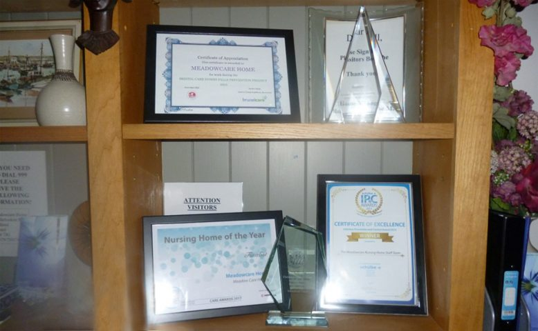 Meadowcare awards cabinet